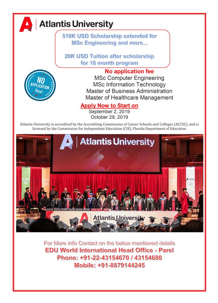 Scholarship---Atlantis-University