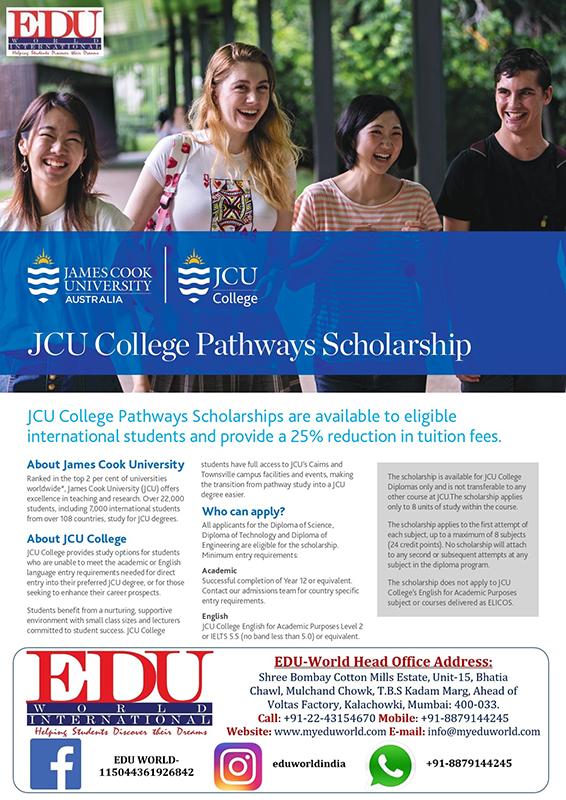 JCU-Pathway-Scholarship